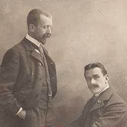 Bild von Thomas und Heinrich Mann